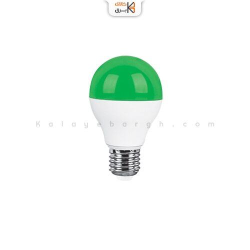 لامپ ال ای دی 9وات سبز پارس شعاع