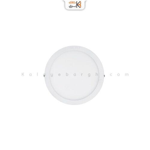 چراغ سقفی روکار دایره ال ای دی 12وات پارس شعاع